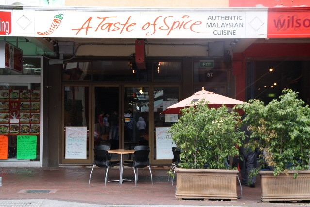 A Taste of Spice Malaysian Restaurant Adelaide
