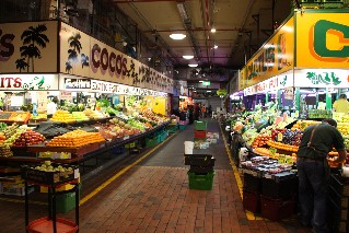 Adelaide Central Markets fresh fruit and vegetables