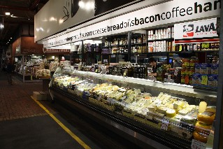 Deli products at Adelaide Central Markets