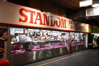 Butcher at Adelaide Central Markets