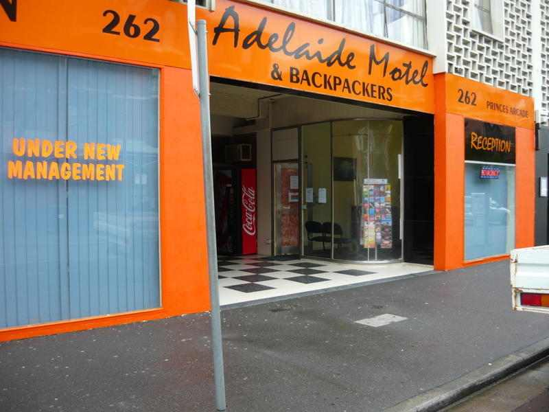Adelaide Motel & Backpackers Adelaide city