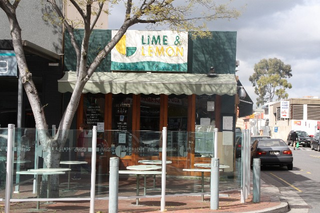 Lime and Lemon Thai Cafe Adelaide