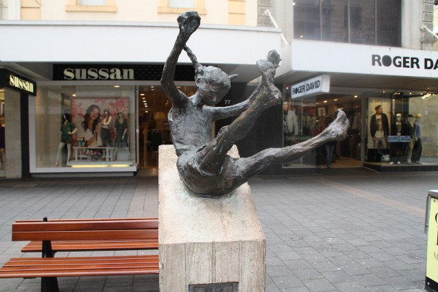 Rundle Mall art Adelaide