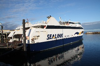 Sea Link Ferry to Kangaroo Island from Cape Jervis