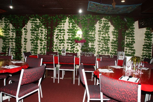 Inside Tandoori Mahal Indian Restaurant Hindley Street Adelaide